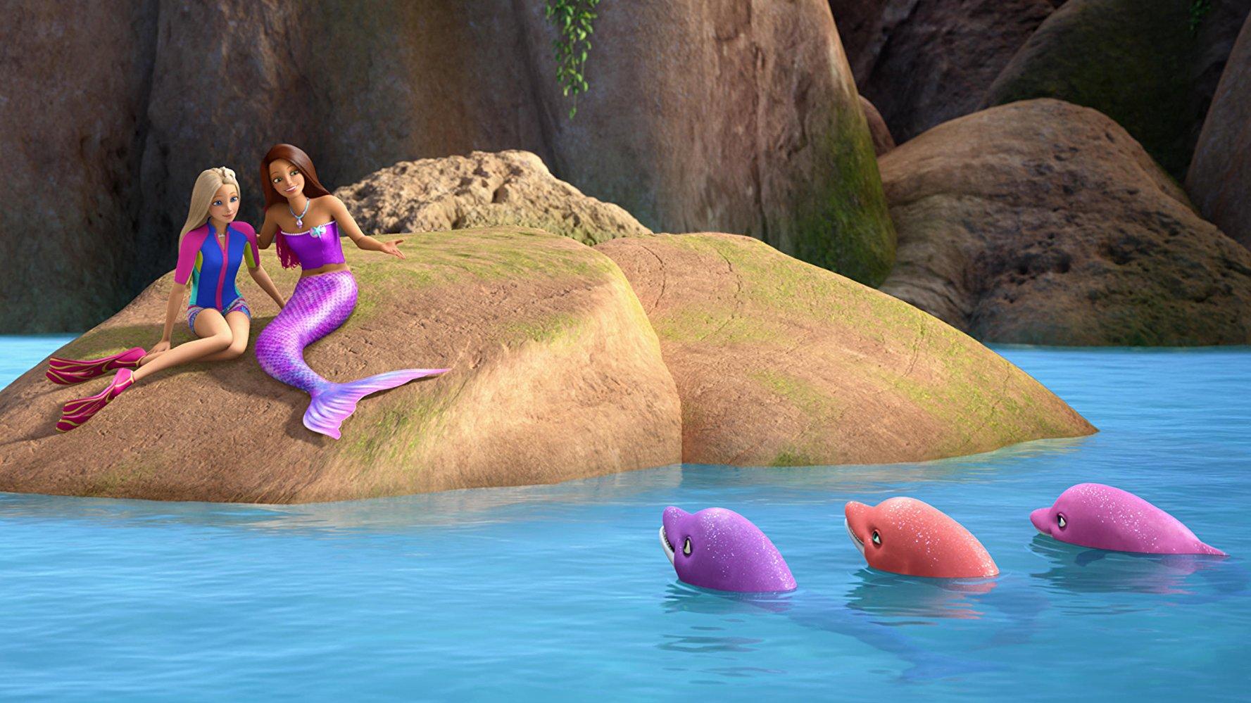 Barbie: Delfiny z Magicznej Wyspy - dubbing