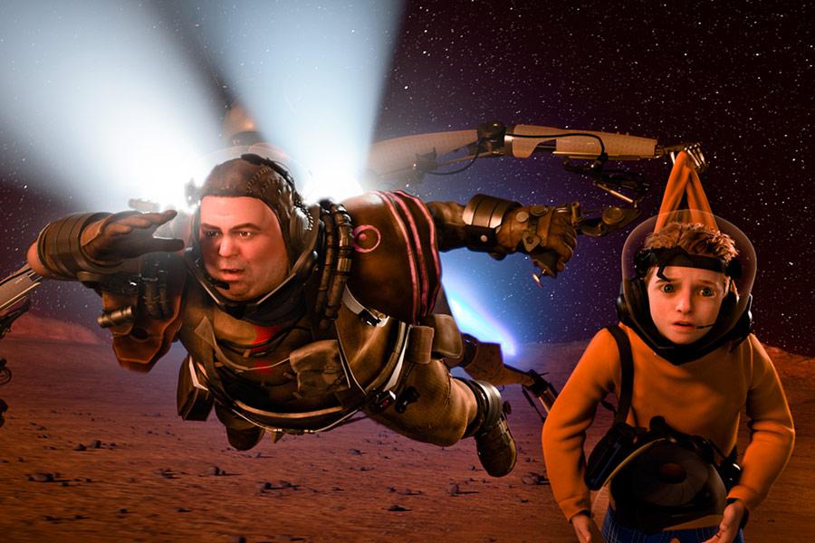 Matki w mackach Marsa 3D