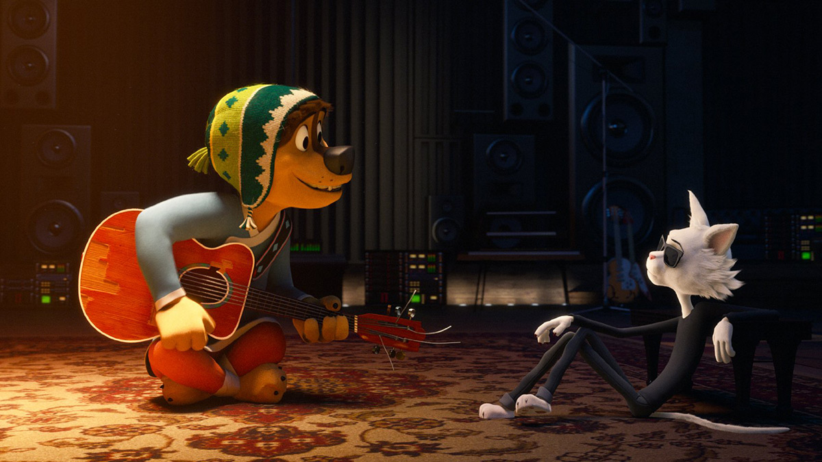 Rock dog. Pies ma głos! 3D - dubbing